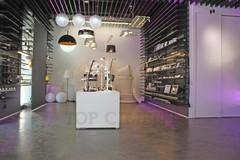 Wohnzimmer, Microzementn, Wandgestaltung
